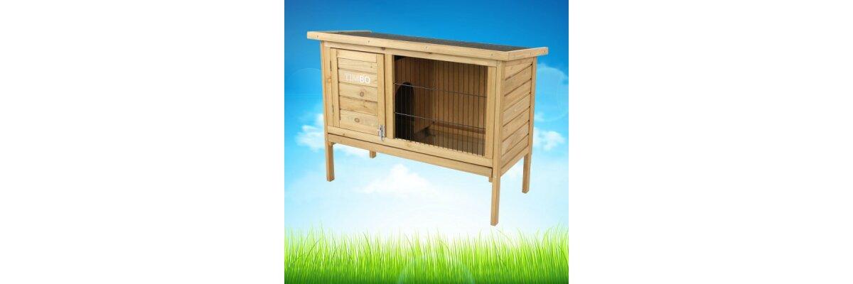 Unsere neue Eigenmarke TIMBO  - Hasenställe, Kaninchenställe und Hundehütten von TIMBO