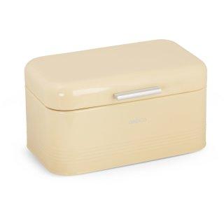 Brotbox ALVA M aus Metall, beige
